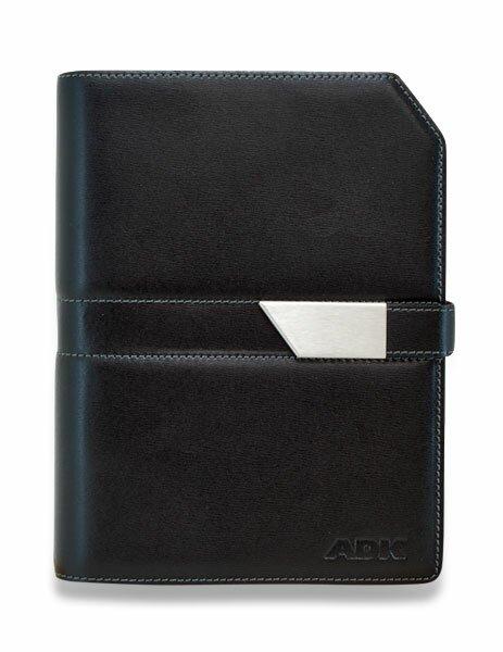 Plánovací diář ADK Classic New A5, oranžovo - černá barva