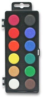 Obrázek produktu Vodové barvy Koh-i-noor 171531 - 12 barev, průměr 22,5 mm