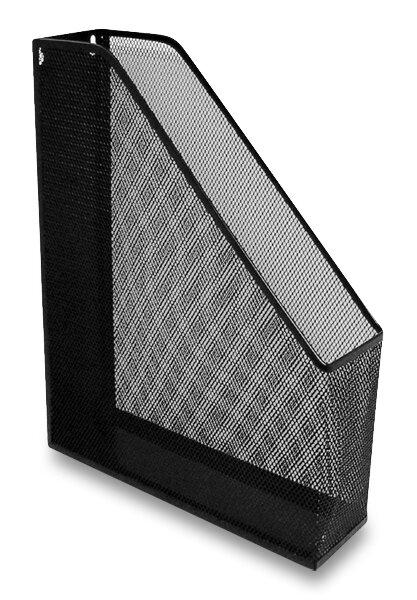Otevřený archivační box drátěný pro formát A4, černý