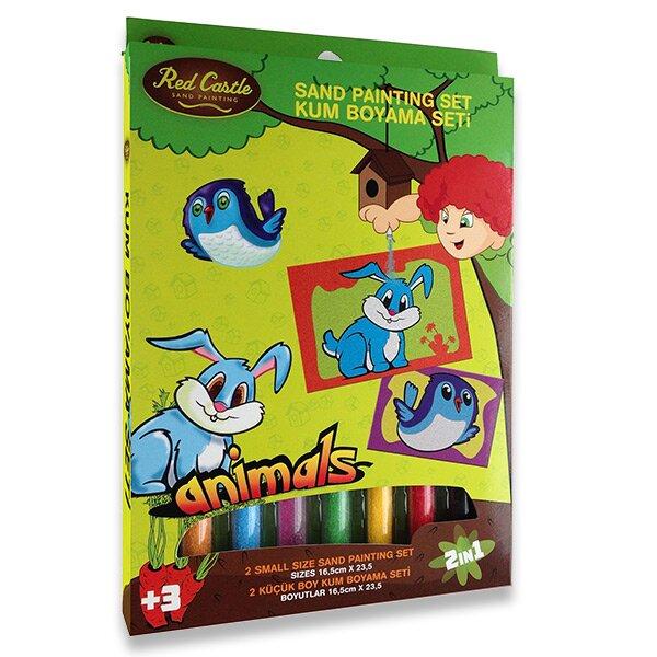Malování barevným pískem Disney 2v1 - Zajíc a ptáček