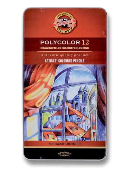 Umělecké pastelky Koh-i-noor Polycolor 3822 12 barev