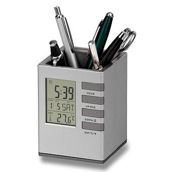 Obrázek produktu Fabrizio - stojánek na psací potřeby s hodinami