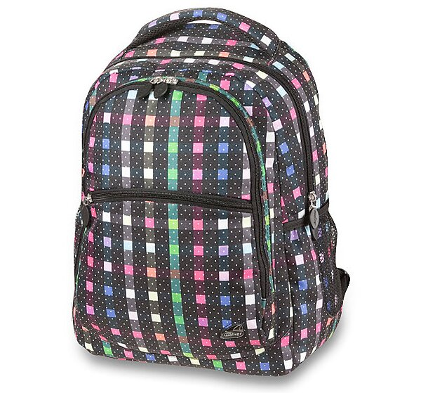 Školní batoh Walker Classic čtverečkovaný