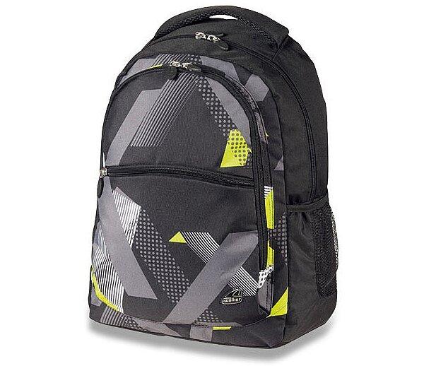 Školní batoh Walker Classic černo-šedý