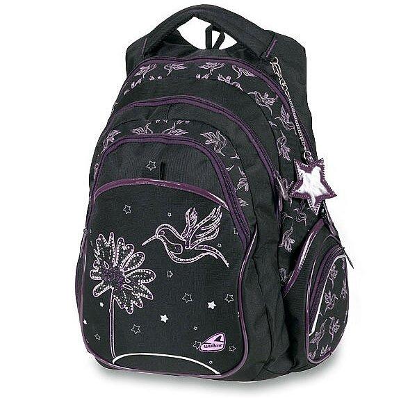 Školní batoh Walker Squizz Spring Fever (Kolibřík)