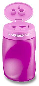 Obrázek produktu Ořezávátko Stabilo EASYsharpener - pro leváky, růžové - 3 otvory