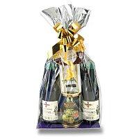 Dárkový potravinový balíček s vínem