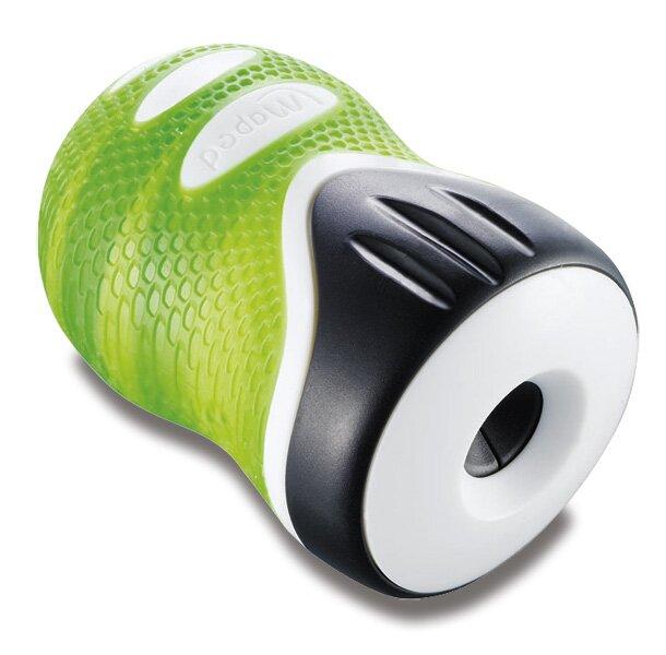 Ořezávátko Maped Clean Grip - s odpadní nádobou 1 otvor, mix barev