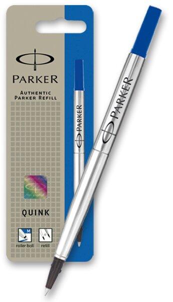 Náplň Parker do rolleru modrá, 0,7 mm