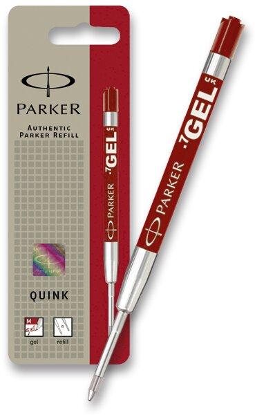 Gelová náplň Parker do kuličkové tužky červená