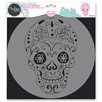 Plastová šablona AladinE - Lebka