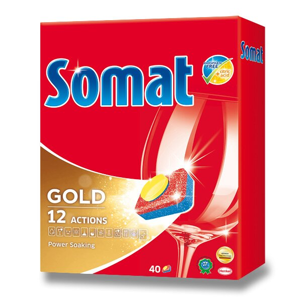 Tablety do myčky Somat Gold 40 tablet