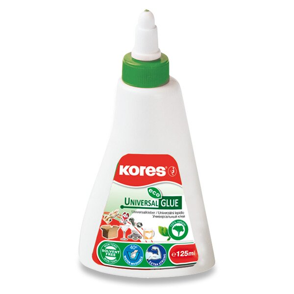 Lepidlo Kores Universal Glue Eco 125 ml