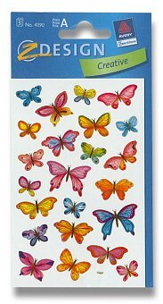 Obrázek produktu Samolepky Avery - Motýli
