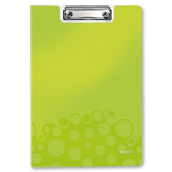 Psací desky s klipem Leitz Wow zelená