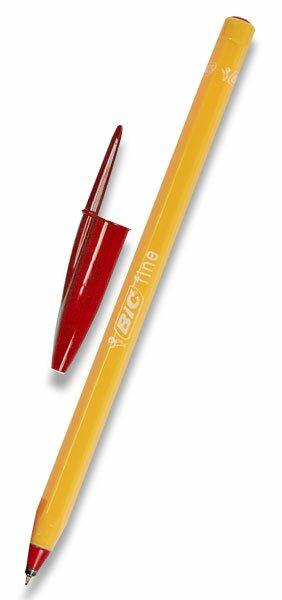 Kuličková tužka Bic Orange červená