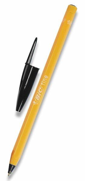 Kuličková tužka Bic Orange černá