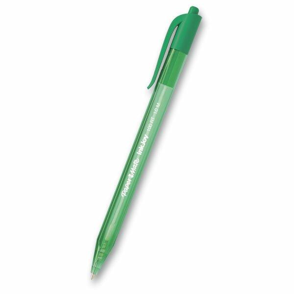 Kuličková tužka PaperMate InkJoy 100 Click zelená