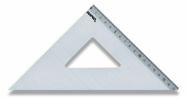 Trojúhelník Maped 45°/26 cm