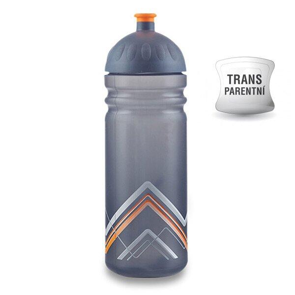 Zdravá lahev BIKE 0,7 l Hory, oranžová