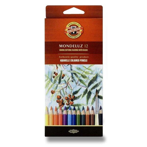 Akvarelové pastelky Koh-i-noor Mondeluz 3716 12 barev