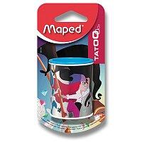 Ořezávátko Maped Tatoo Can - kovové se zásobníkem