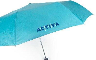 Sítotisk na skládací deštníky - 2 barvy