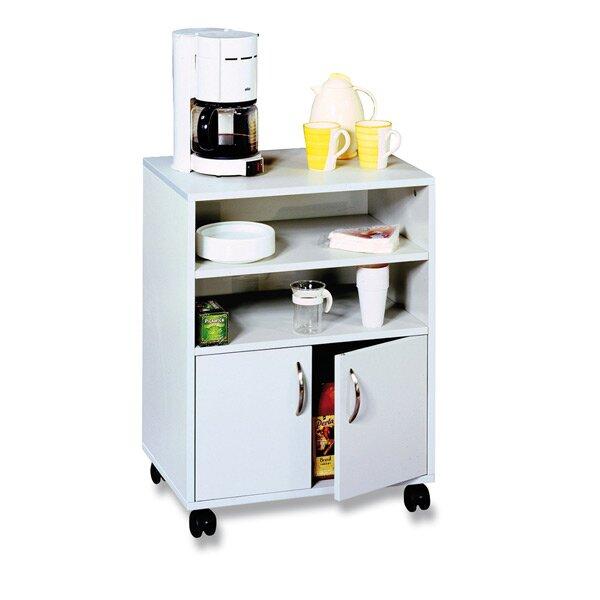 Pojízdný kancelářský stolek se skříňkou Durable 720 x 530 x 400 mm