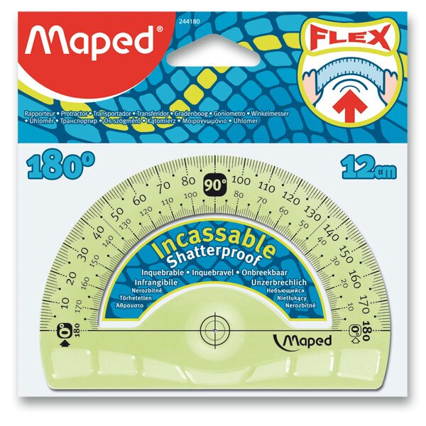 Úhloměr Maped Unbreakable 180°
