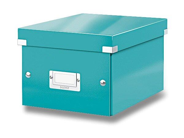 Archivační krabice Leitz Click & Store ledově modrá