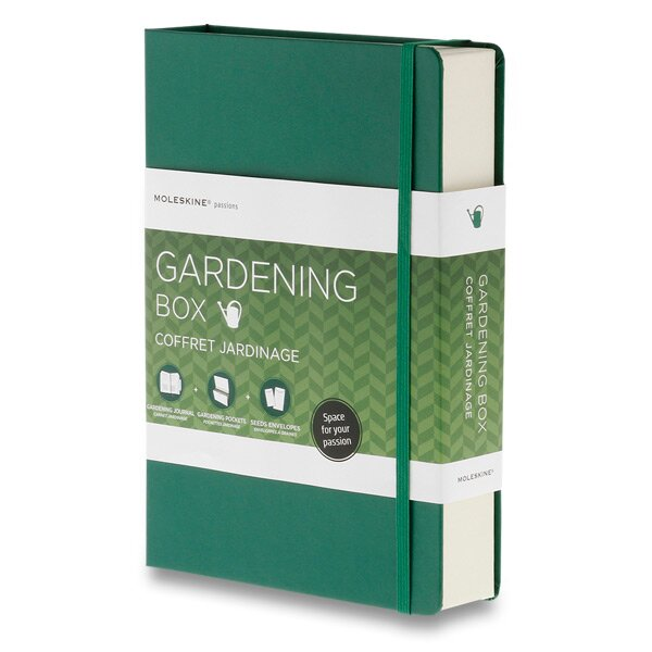 Moleskine Passion Gardening Box dárková sada