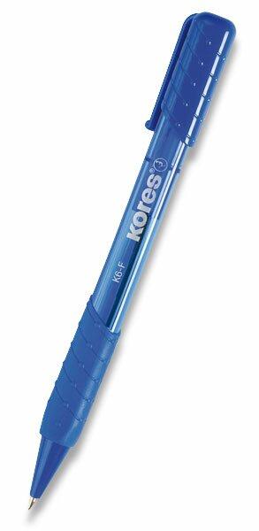 Kuličková tužka Kores K6 modrá