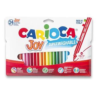 Obrázek produktu Dětské fixy Carioca Joy - 24 barev