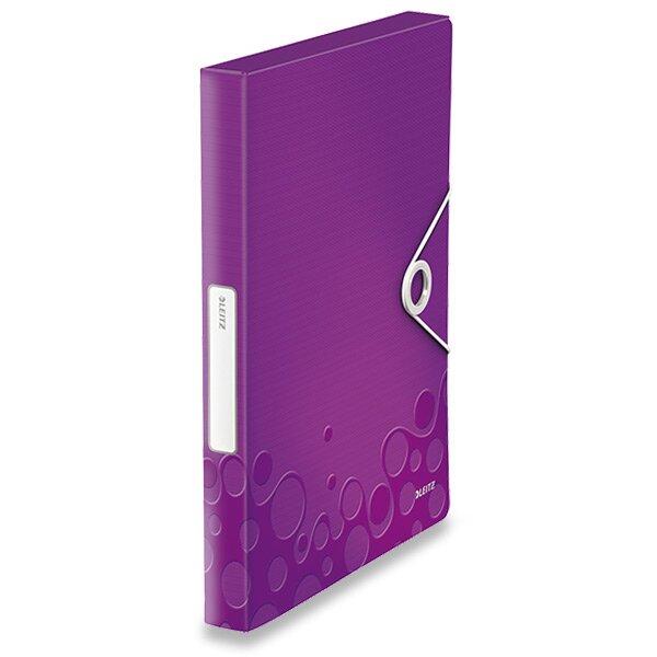 Box na dokumenty Leitz Wow fialový