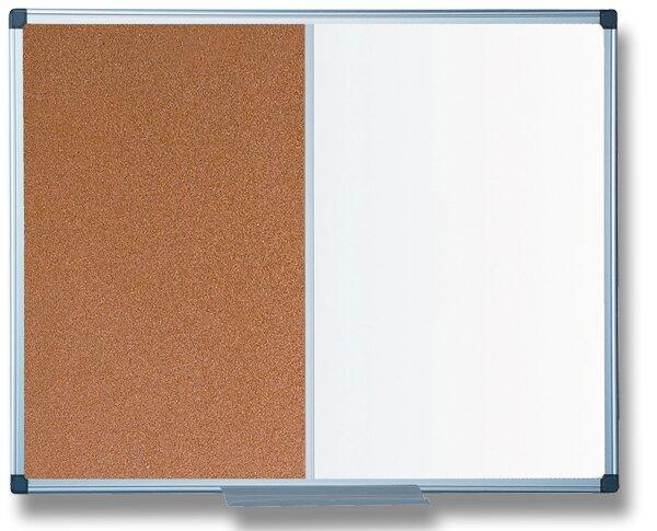 Kombinovaná tabule Bi-Office 60 × 90 cm