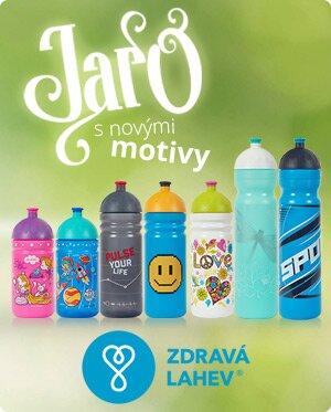 zdrava lahev nove motivy