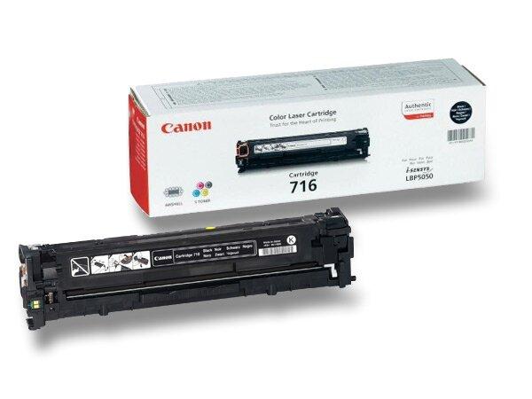 Toner Canon CRG-716 pro laserové tiskárny black (černý)