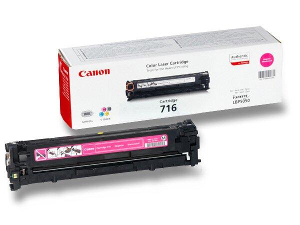 Toner Canon CRG-716 pro laserové tiskárny magenta (červený)