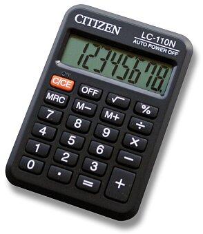 Obrázek produktu Kapesní kalkulátor Citizen LC-110N
