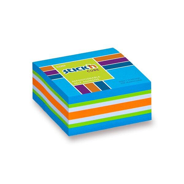 Samolepicí bloček Hopax Stick'n Notes Neon modrý