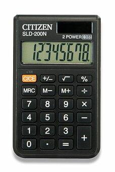 Obrázek produktu Kapesní kalkulátor Citizen SLD-200N