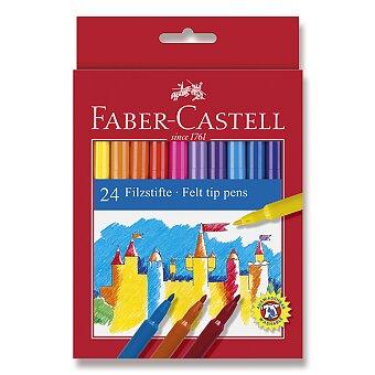 Obrázek produktu Dětské fixy Faber-Castell - 24 barev