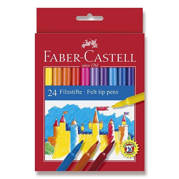 Dětské fixy Faber-Castell 24 barev