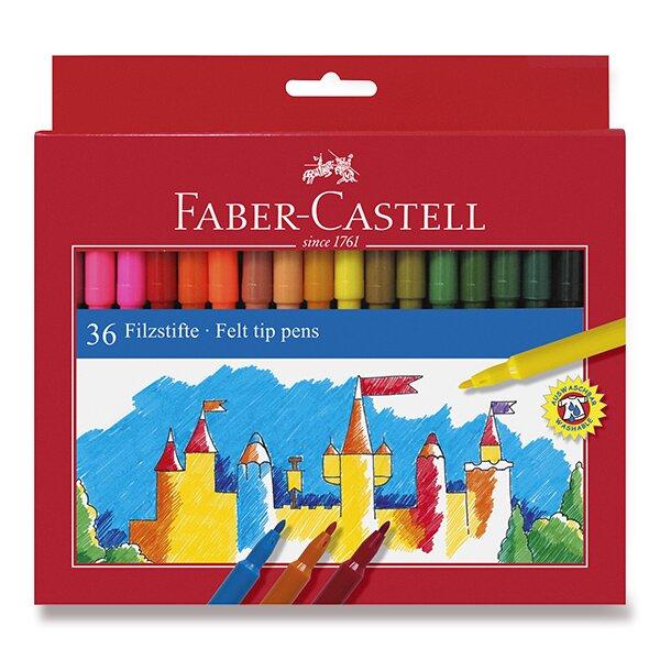 Dětské fixy Faber-Castell 36 barev