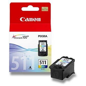 Obrázek produktu Cartridge Canon CL-511   pro inkoustové tiskárny - color (barevná)
