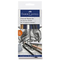 Umělecká sada Faber-Castell Goldfaber Charcoal Sketch