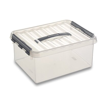 Obrázek produktu Helit Q-line - úložný box - 4 l, 200 × 300 × 100 mm