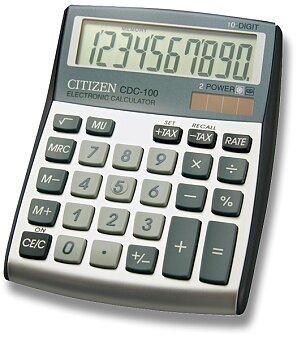 Obrázek produktu Stolní kalkulátor Citizen CDC-100