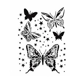 Obrázek produktu Plastová šablona Cadence - Motýli