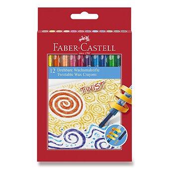 Obrázek produktu Voskovky Faber-Castell Twist - 12 barev